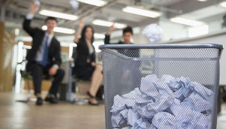 gaspillage-papier-entreprise